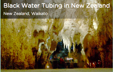 Tinggly Black Water Tubing in New Zealand