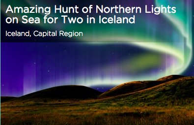 Tinggly Hunt of Northern Lights in Iceland