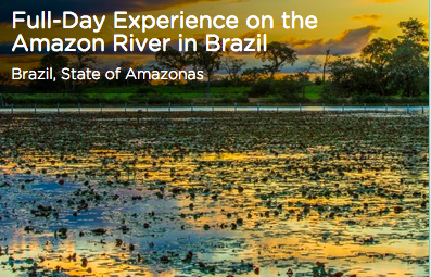 Tinggly Experience on the Amazon River in Brazil