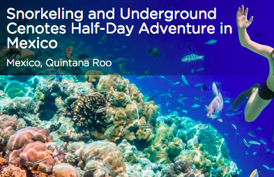Tinggly Snorkeling and Underground Cenotes in Mexico