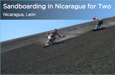 Tinggly Sandboarding in Nicaragua