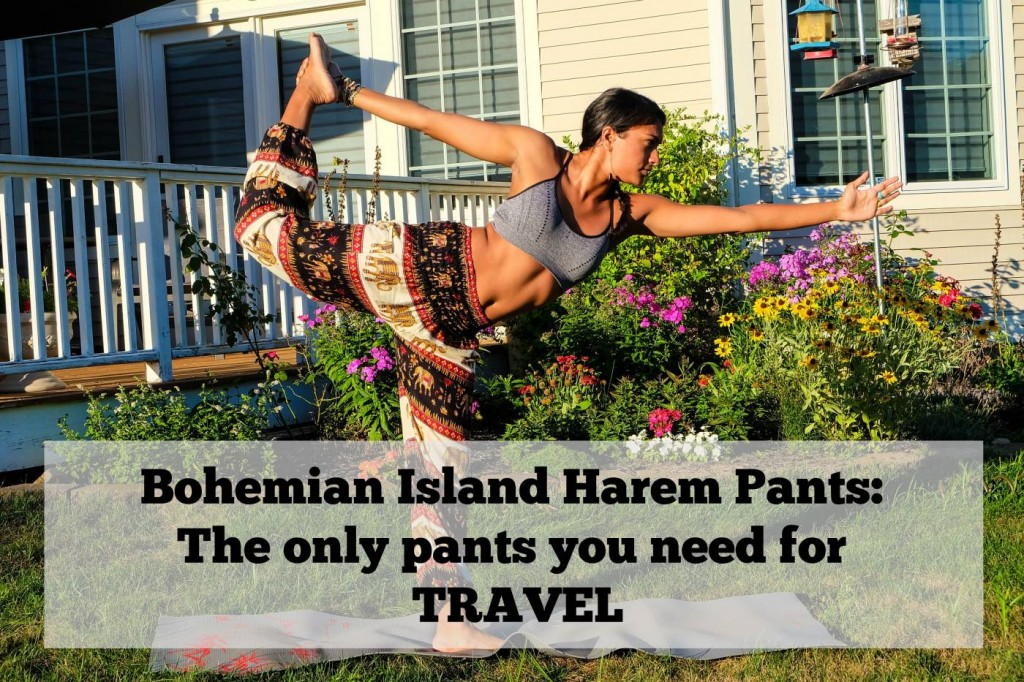 Bohemian Island Harem Pants: Th e only pants you need for travel