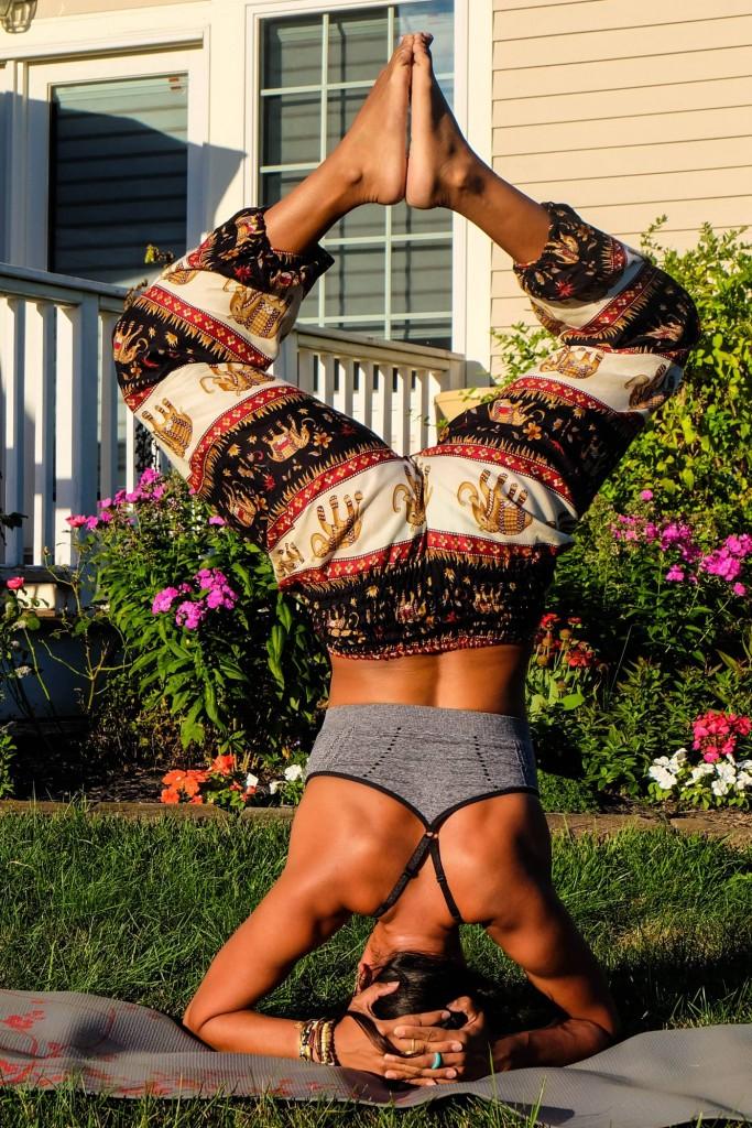 Bohemian Island Harem Yoga Pants