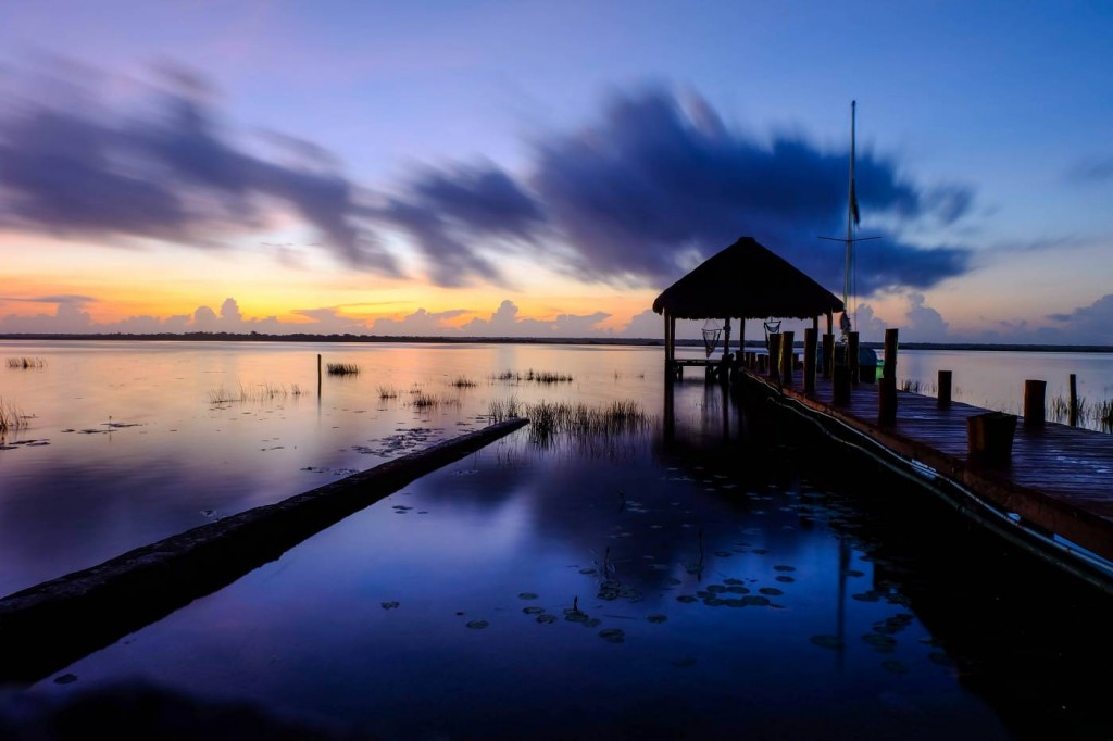 Bacalar at sunrise