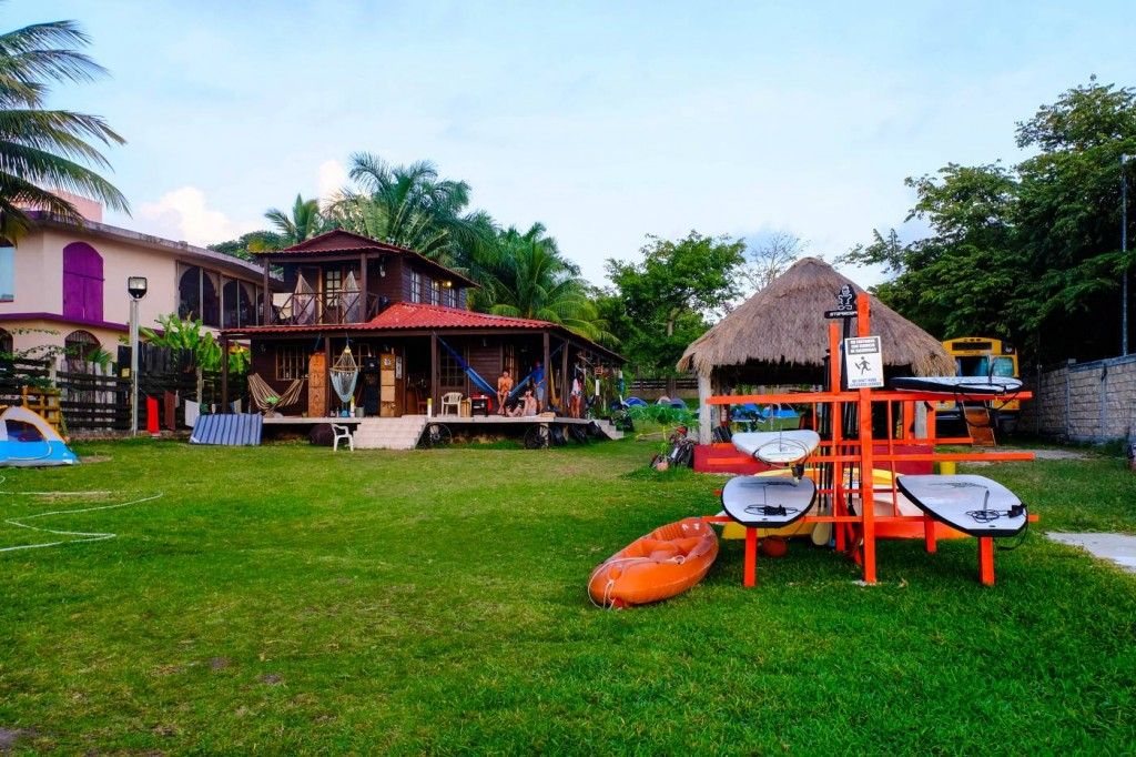 Green Monkey Hostel, Bacalar