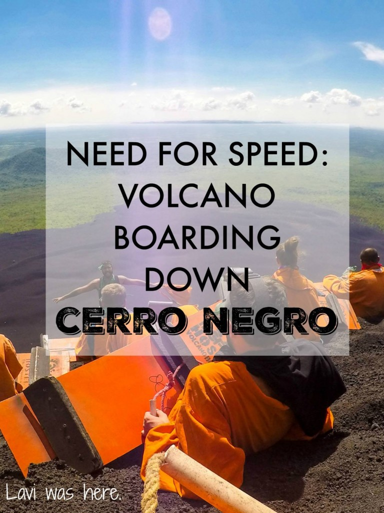 Need for Speed: Volcano Boarding Down Cerro Negro | It didn't take much for me to sign up for volcano boarding down Cerro Negro, an active volcano near León. An adrenaline pumping ride toboggan ride? I'm in.
