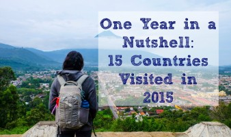 15 Countries Visited in 2015