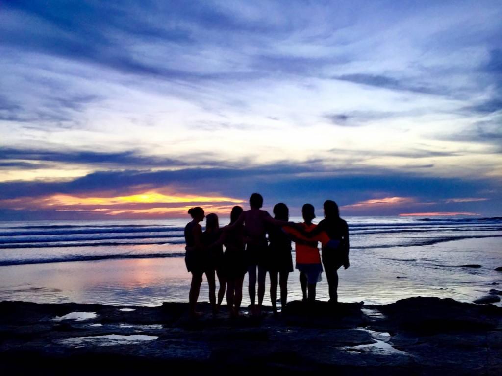 Group Sunset, Playa Maderas