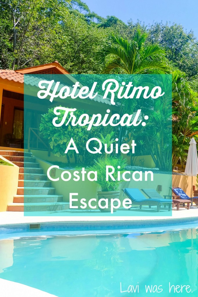 Hotel Ritmo Tropical | I didn't have to look any further than Hotel Ritmo Tropical, its own oasis right between Mal Pais and Santa Teresa, for a quiet escape in Costa Rica.
