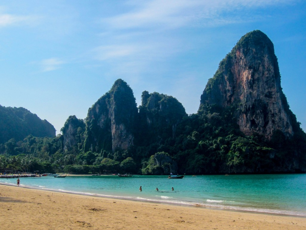 Railay Beach, Christmas 2012