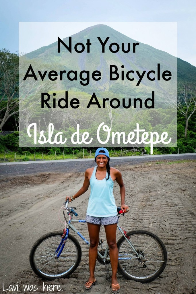 Not Your Average Bicycle Ride Around Isla de Ometepe | I took off on a bicycle ride around Isla de Ometepe, Nicaragua, not realizing that a bicycle might not be the best way to get around the island. It ended up being an incredible experience.