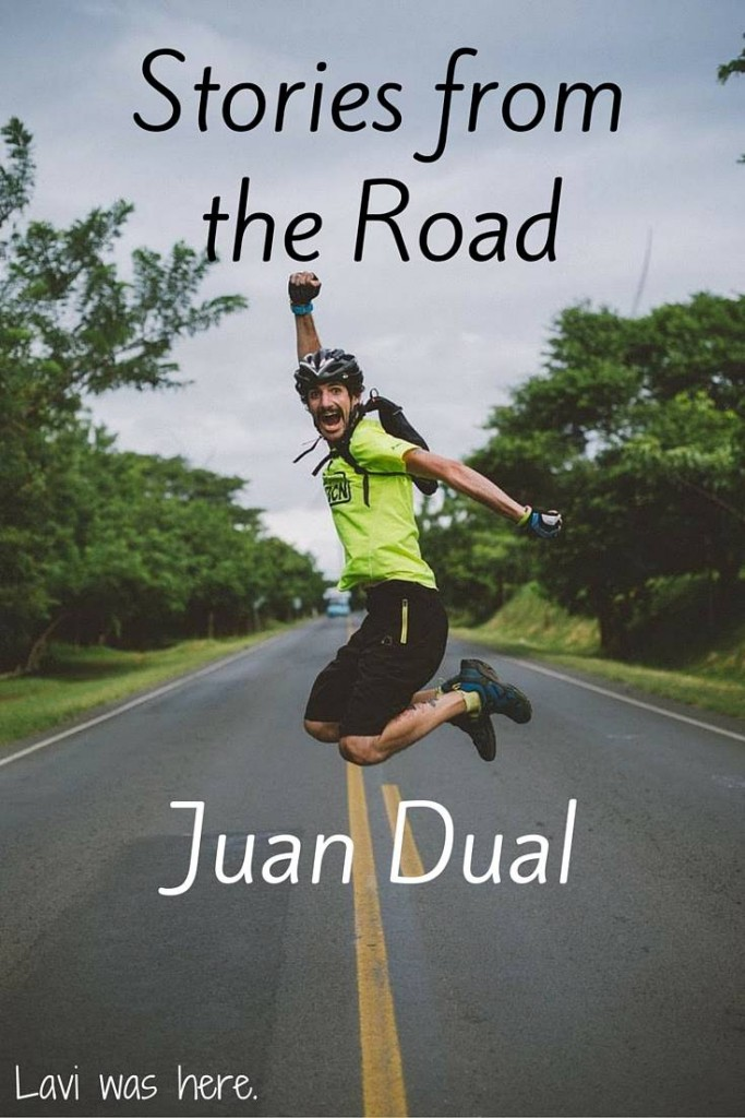 Stories from the Road | Have you ever met someone who's energy and positivity is so strong that it gives you the goosebumps? Meet Juan from Valencia, Spain.