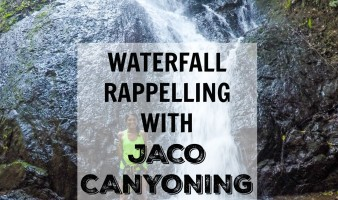 Waterfall Rappelling with Jaco Canyoning