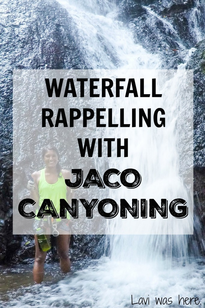 Waterfall Rappelling with Jaco Canyoning | I joined Jaco Canyoning on a waterfall rappelling and zip line adventure that was definitely something I'll be telling the grandkids about one day!