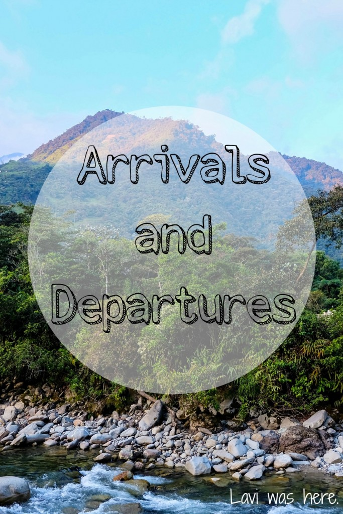Arrivals and Departures | I spent the night in the airport for the first time and was overcome with emotion as I sat in front of the entrance to the Departures terminal watching loved ones saying their goodbyes.