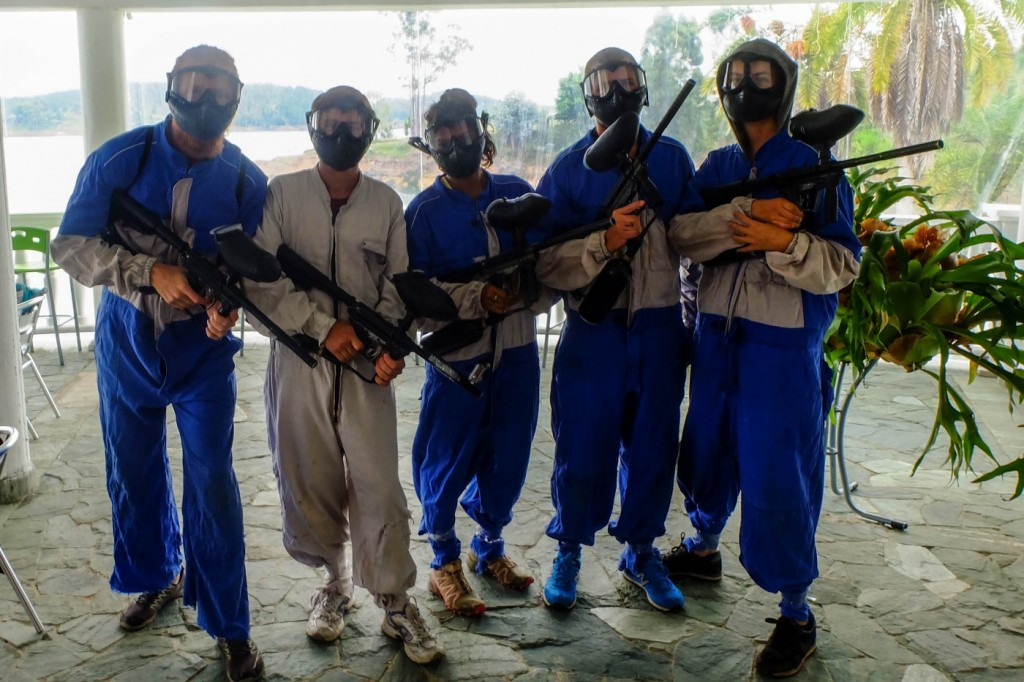 Paintball in Pablo Escobar's Mansion