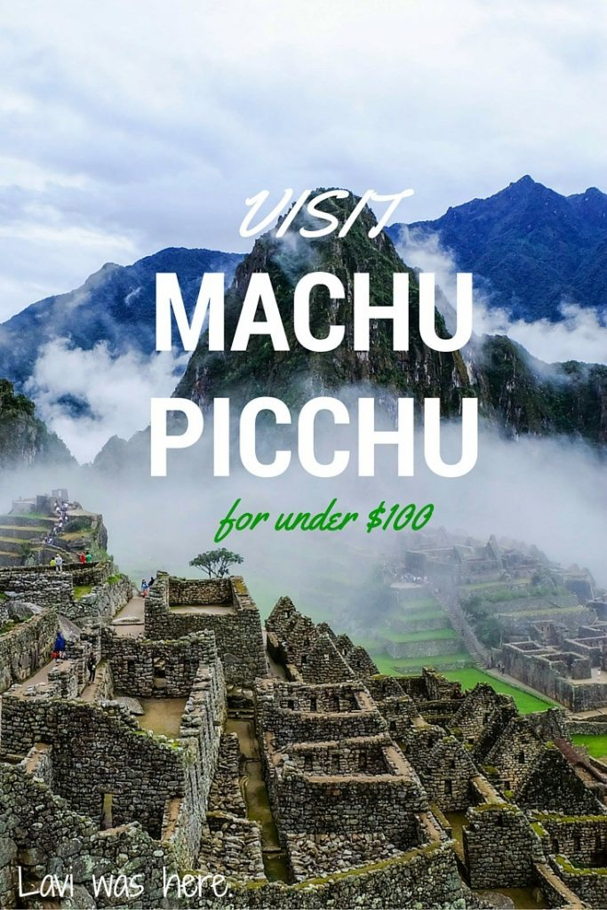 How to Visit Machu Picchu for under $100 | Looking to visit Machu Picchu on a budget? I did Machu Picchu for $100 and it was so worth it.