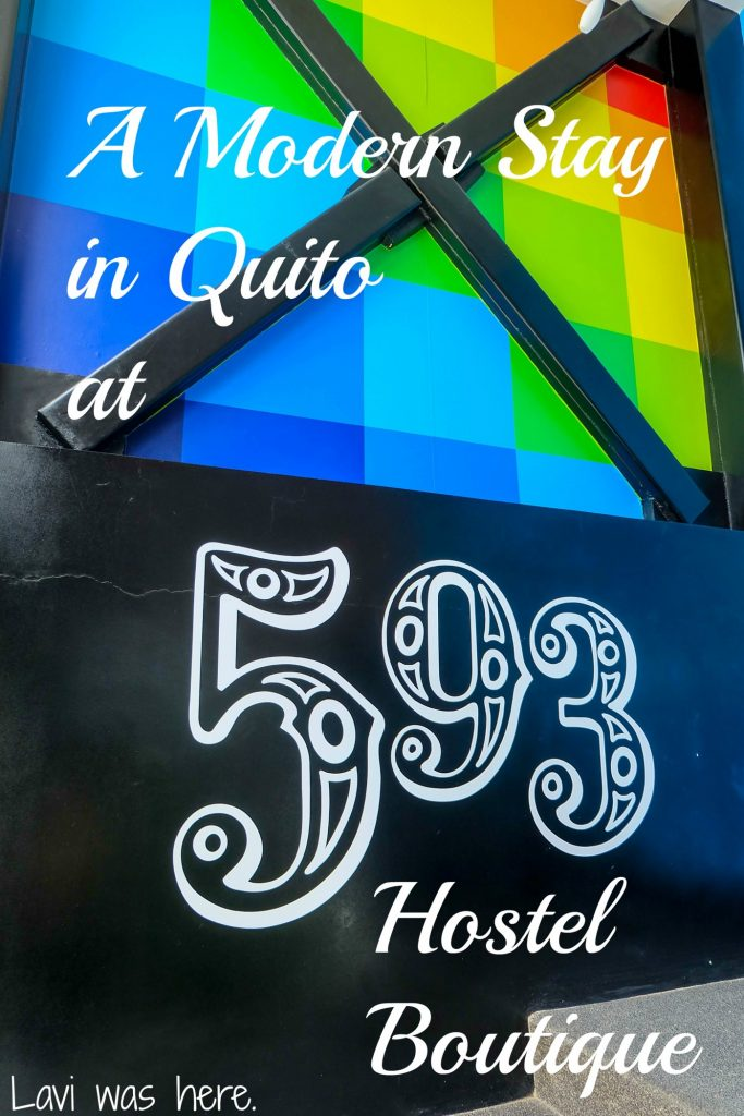 A Modern Stay in Quito at 593 Hostel Boutique