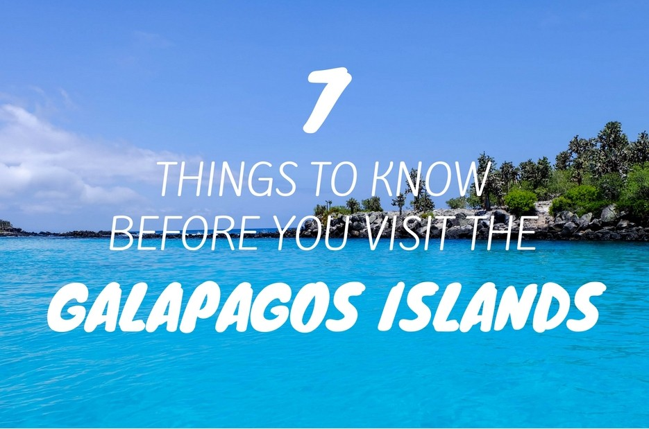 7 Things to Know Before You Visit the Galapagos Islands