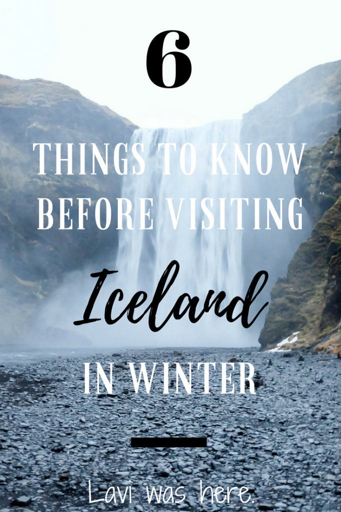6 Things to Know Before You Visit Iceland in Winter | Should you visit Iceland in winter? Yes. Are there specific things you should take note of before you plan your trip? Yes. Here's some need to know before having an incredible Icelandic travel experience. | Lavi was here.