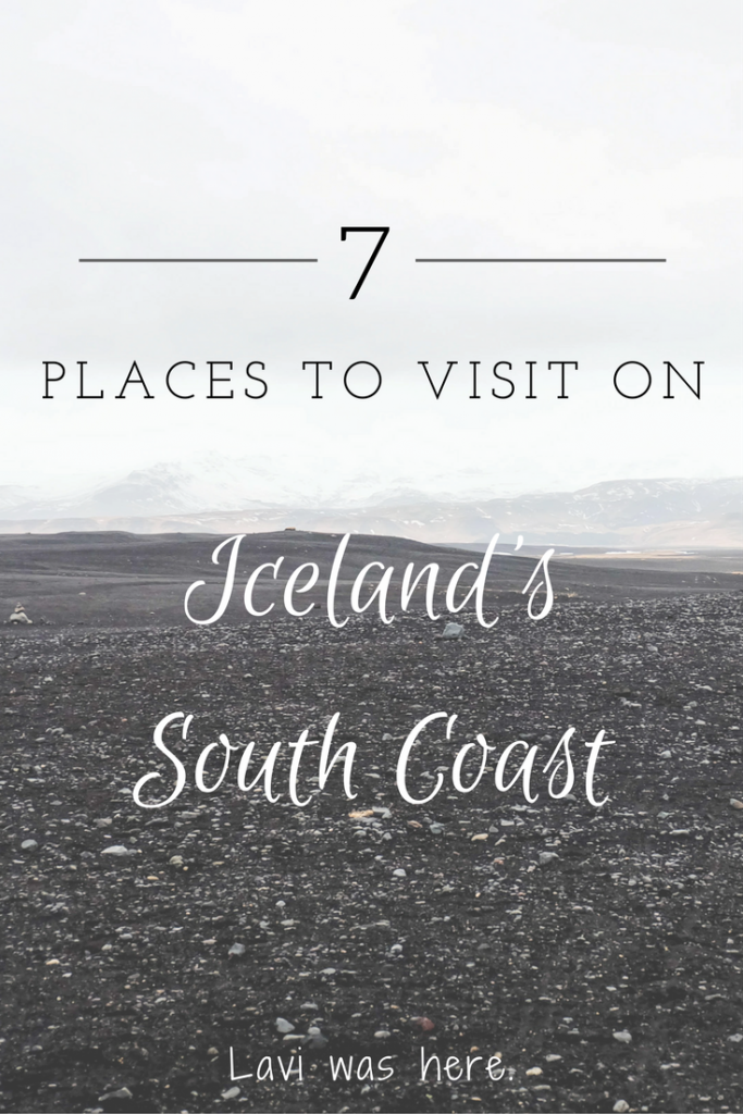 7 Places to Visit On A South Coast Iceland Road Trip | There are a few must-see spots on Iceland's south coast. Take a road trip across the south coast and make sure to stop at these beautiful places! | Lavi was here.