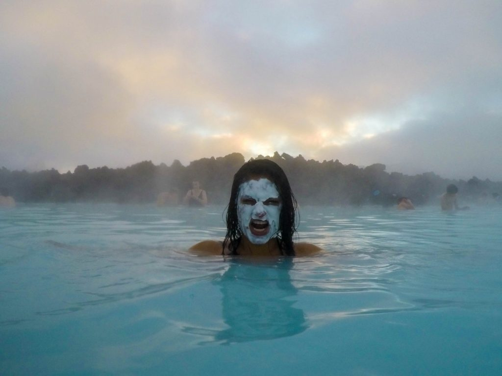 Heating Up in Iceland's Blue Lagoon Geothermal Spa