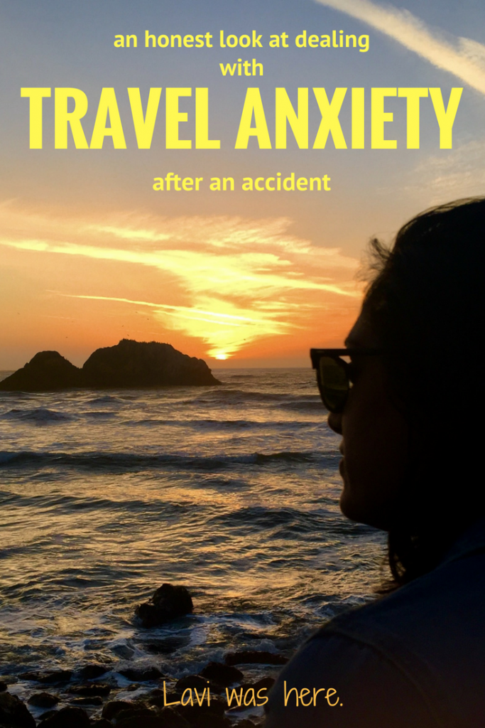 An Honest Look at Dealing with Travel Anxiety After an Accident | Two weeks ago I was hit by a car. The physical and emotional struggle is real, and anxiety is making it difficult to be excited about traveling. | Lavi was here.