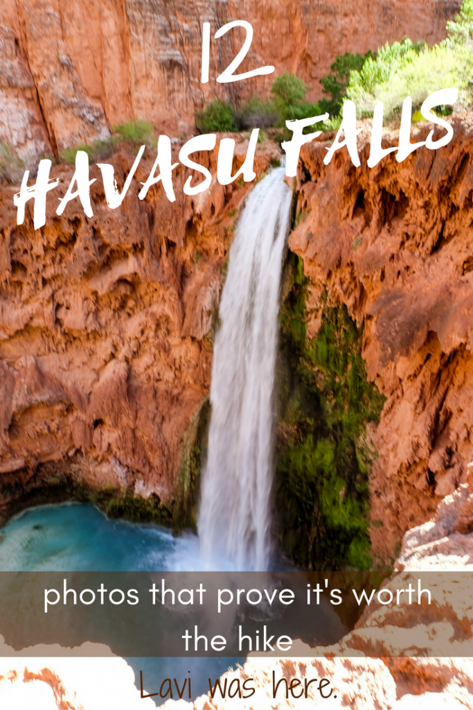 12 Havasu Falls Photos that Prove it's Worth the Hike | A 10-mile hike to Havasu Falls is so worth it. Don't believe me? Here are 12 Havasu Falls photos to stoke your wanderlust! | Lavi was here.