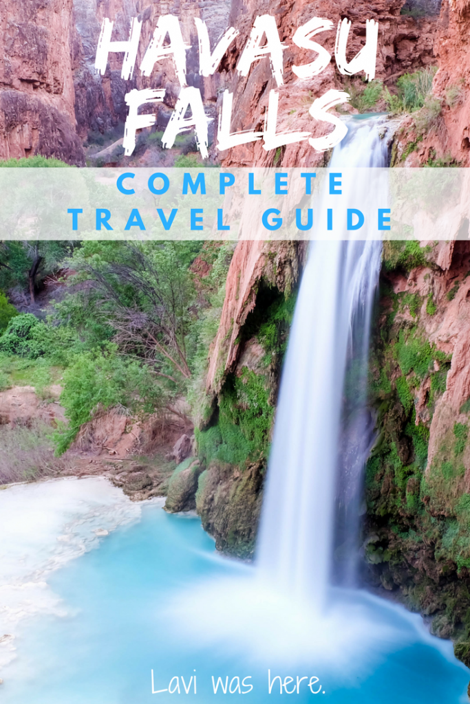 Havasu Falls Travel Guide | Havasu Falls is a must-visit in Arizona! Here's a hiking and camping travel guide with everything you need to know before you go on this incredible hike! | Lavi was here.