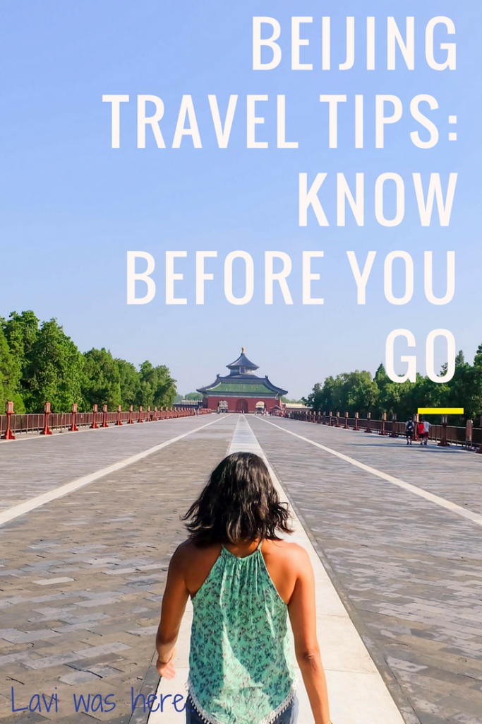 Beijing Travel Tips: Know Before You Go | Planning a trip to Beijing? I'm paying it forward; here's everything I wish I knew before my trip to Beijing.