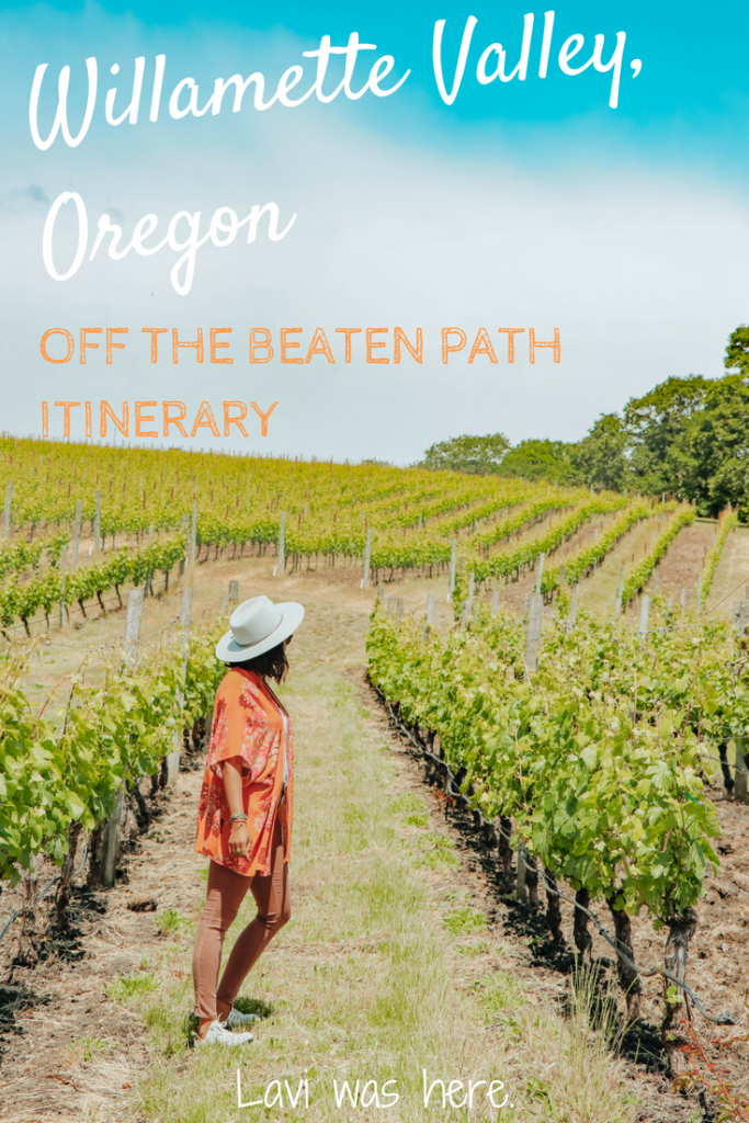 Off the Beaten Path Willamette Valley Itinerary | Visiting Oregon soon? Here's your ultimate off the beaten path Willamette Valley itinerary for exploring Oregon's beautiful wine region. | Lavi was here.
