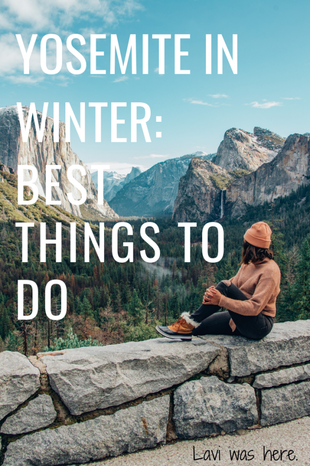 Best Things To Do in Yosemite in Winter | Your winter bucket list just got a little longer - these are some of the best things to do in Yosemite in winter!