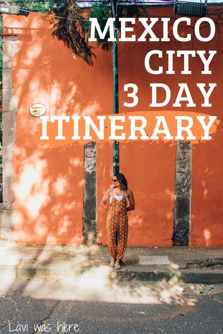 Mexico City 3 Day Itinerary | Mix and match these top picks of plaecs to eat, drink, see, and do to plan your ideal Mexico City 3 day itinerary!
