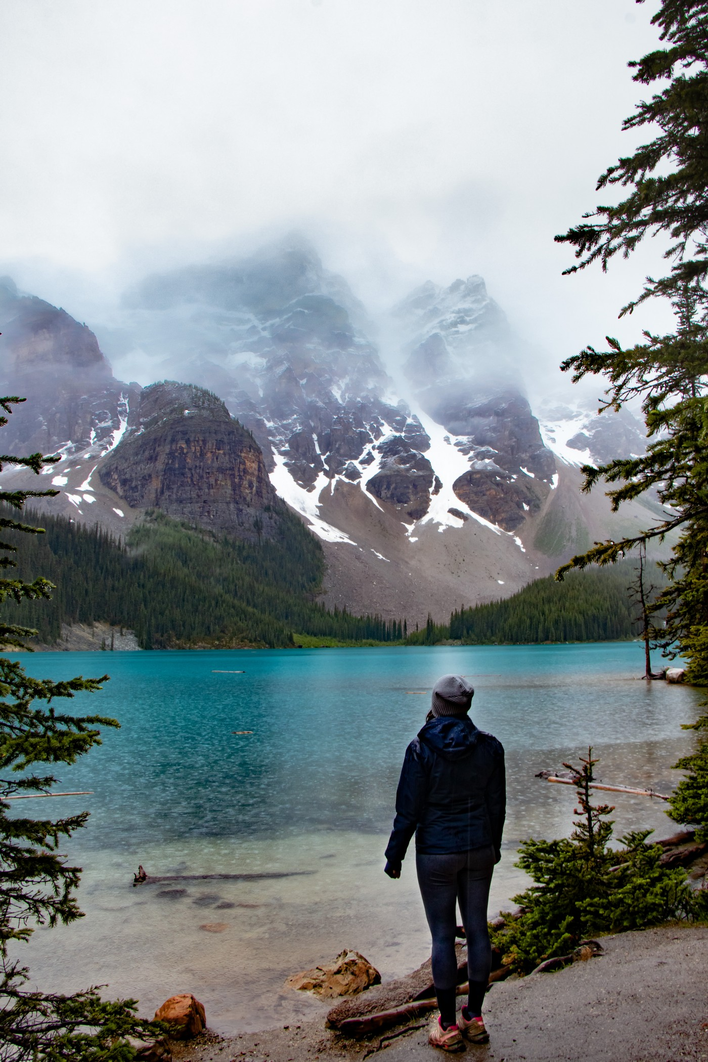Moraine Lake Rockpile Trail | Top 10 Photography Spots in Banff National Park