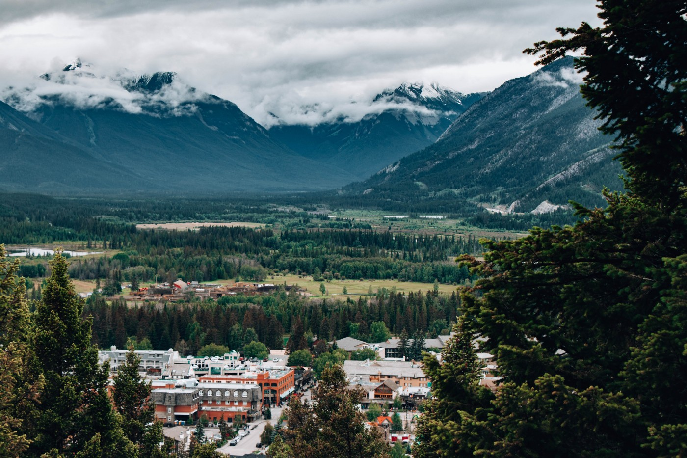 Downtown Banff   Top 10 Photography Spots in Banff National Park