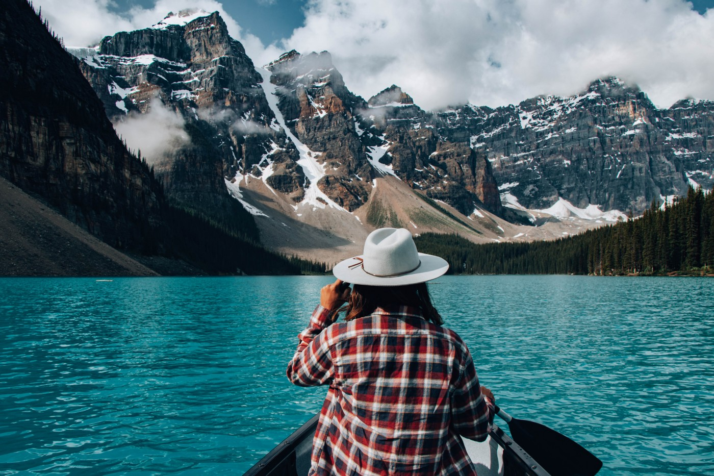 Moraine Lake Canoeing   Top 10 Photography Spots in Banff National Park